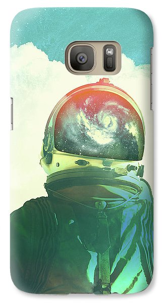 Astronaut Galaxy S7 Case - God Is An Astronaut by Fran Rodriguez