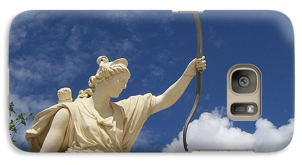 Galaxy Case featuring the photograph Goddess by Mary Mikawoz