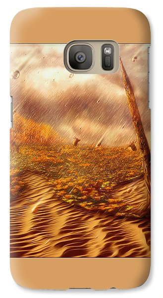 Galaxy Case featuring the painting Gods Hand Painting With Life by Robby Donaghey