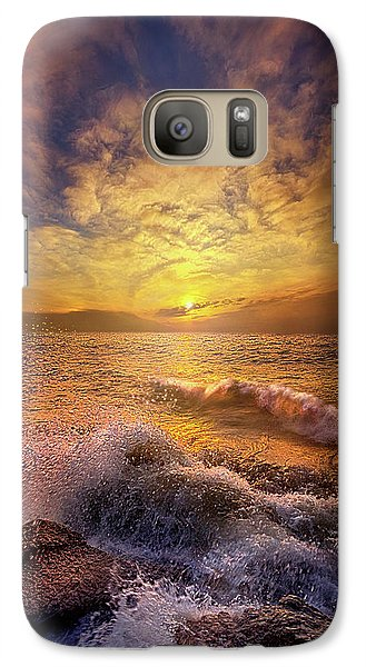Galaxy Case featuring the photograph Gods Natural Cure by Phil Koch