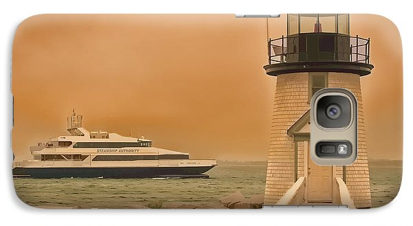 Galaxy Case featuring the photograph Godspeed At Brant Point Nantucket Island by Jack Torcello
