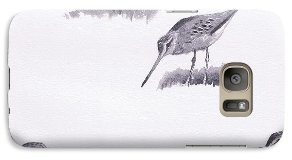Godwits And Green Sandpipers Galaxy S7 Case