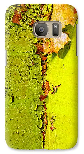Galaxy Case featuring the photograph Going Green by Skip Hunt
