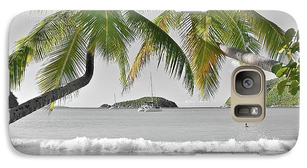 Galaxy Case featuring the photograph Going Green To Save Paradise by Frozen in Time Fine Art Photography