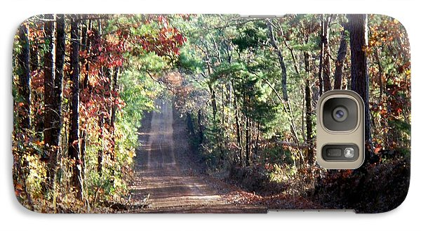 Galaxy Case featuring the photograph Going Home by Betty Northcutt