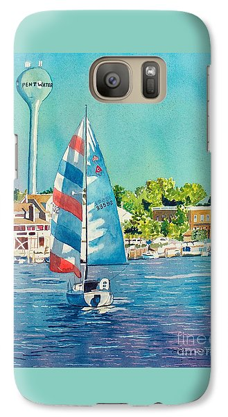 Galaxy Case featuring the painting Going Home by LeAnne Sowa