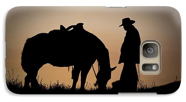 Horse Galaxy S7 Case - Going Home by Sandra Bronstein
