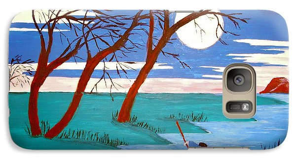 Galaxy Case featuring the painting Going Home by Stephanie Moore