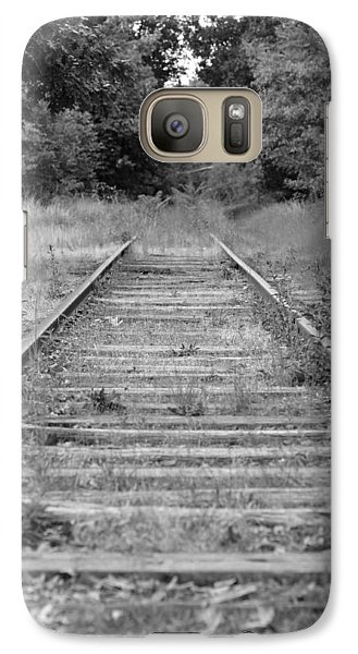 Galaxy Case featuring the photograph Going Nowhere by Corinne Rhode