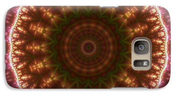 Galaxy Case featuring the digital art Gold 3 by Robert Thalmeier