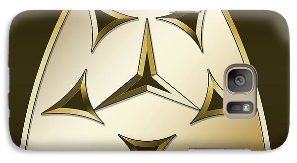 Galaxy Case featuring the digital art Gold Coffee 7 - Chuck Staley by Chuck Staley