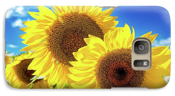 Galaxy Case featuring the photograph Gold by Greg Fortier