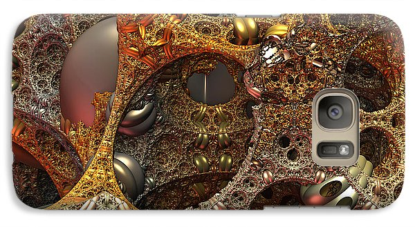 Galaxy Case featuring the digital art Gold Mine by Lyle Hatch