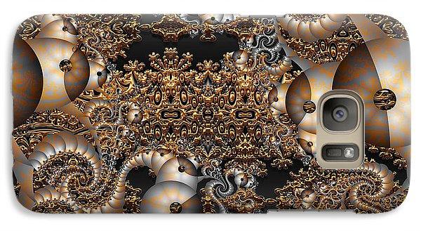 Galaxy Case featuring the digital art Gold Rush by Robert Orinski