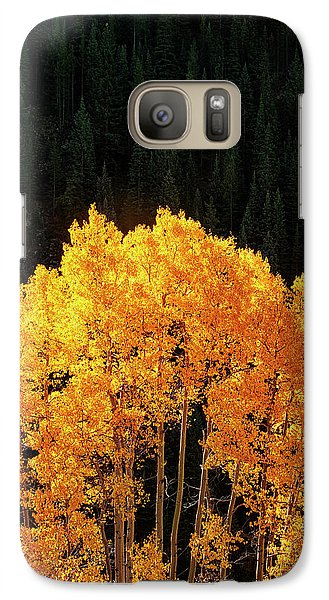 Galaxy Case featuring the photograph Golden Autumn by Andrew Soundarajan