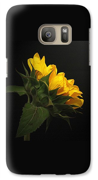 Galaxy Case featuring the photograph Golden Beauty by Judy Vincent