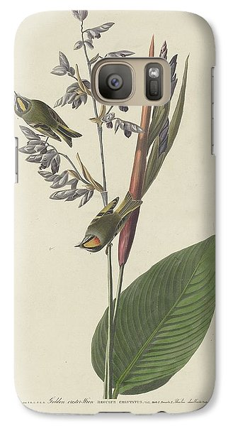 Golden-crested Wren Galaxy S7 Case by Dreyer Wildlife Print Collections
