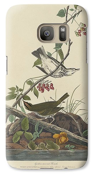 Golden-crowned Thrush Galaxy S7 Case by Dreyer Wildlife Print Collections