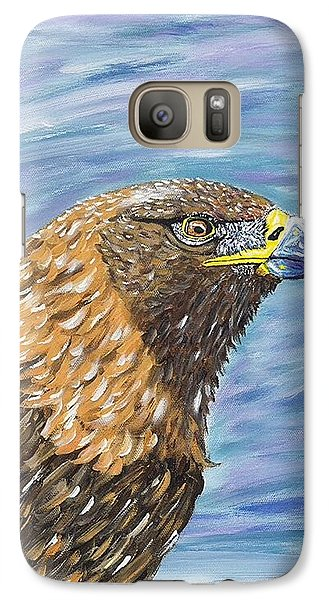 Galaxy Case featuring the painting Golden Eagle by Scott Wilmot
