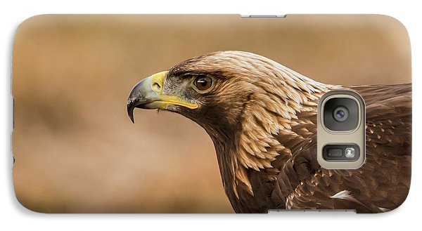 Galaxy Case featuring the photograph Golden Eagle's Portrait by Torbjorn Swenelius