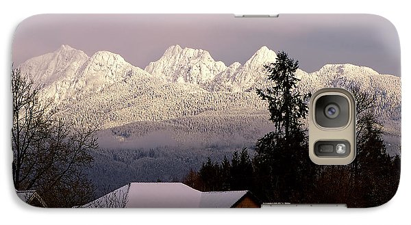 Galaxy Case featuring the photograph Golden Ears Mountain View by Sharon Talson