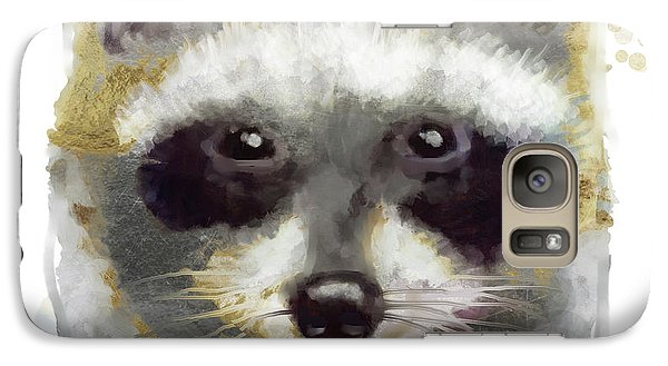 Golden Forest Raccoon  Galaxy S7 Case
