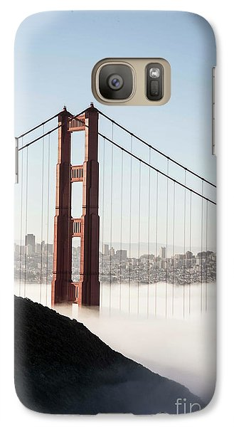 Galaxy Case featuring the photograph Golden Gate And Marin Highlands by David Bearden