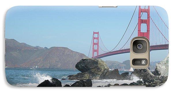 Golden Gate Beach Galaxy S7 Case