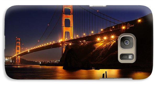 Galaxy Case featuring the photograph Golden Gate Bridge 1 by Vivian Christopher