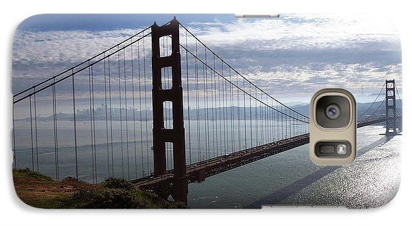 Galaxy Case featuring the photograph Golden Gate Bridge-2 by Steven Spak
