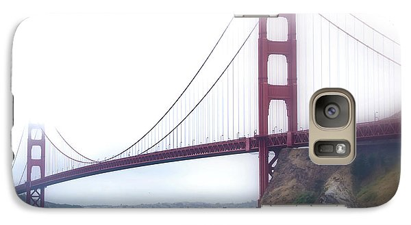 Galaxy Case featuring the photograph Golden Gate Bridge by Laura DAddona