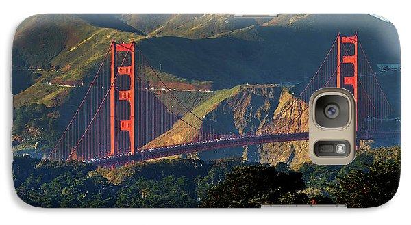 Galaxy Case featuring the photograph Golden Gate Bridge by Steven Spak