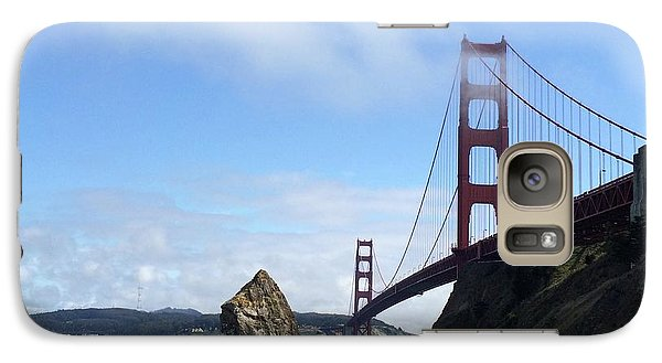 Galaxy Case featuring the photograph Golden Gate Bridge by Sumoflam Photography