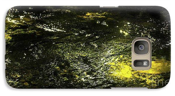 Golden Glow Galaxy S7 Case by Tatsuya Atarashi