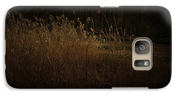 Galaxy Case featuring the photograph Golden Grass by Ryan Photography