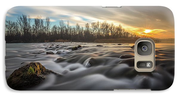 Galaxy Case featuring the photograph Golden Hour by Davorin Mance