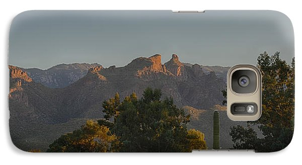 Galaxy Case featuring the photograph Golden Hour On Thimble Peak by Dan McManus