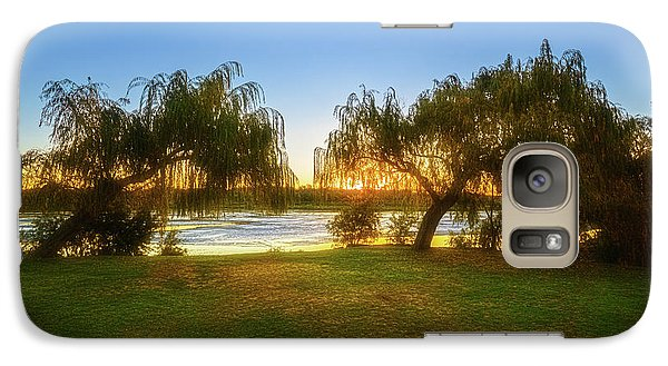 Galaxy Case featuring the photograph Golden Lake, Yanchep National Park by Dave Catley