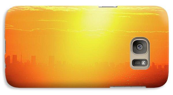 Golden Light Galaxy S7 Case by Tatsuya Atarashi