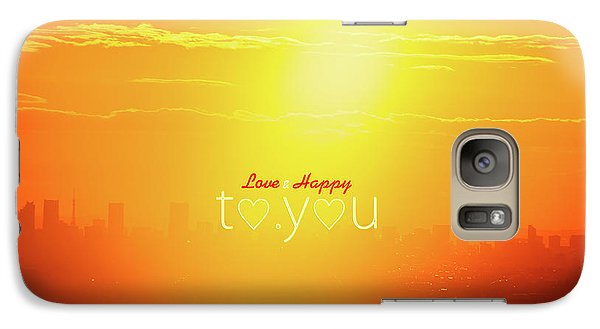 To You #002 Galaxy S7 Case by Tatsuya Atarashi