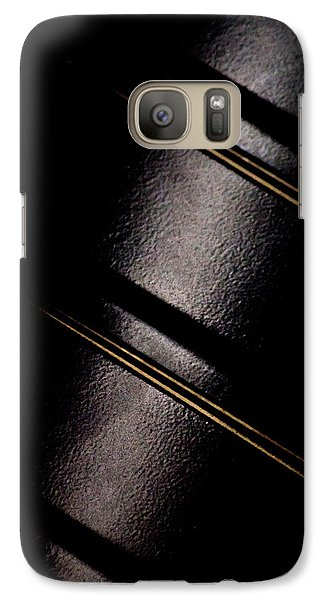 Galaxy Case featuring the photograph Golden Line by Paul Job