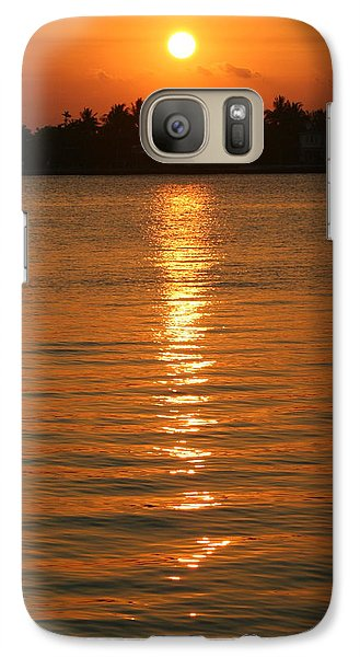 Galaxy Case featuring the photograph Golden Moment by Diane Merkle
