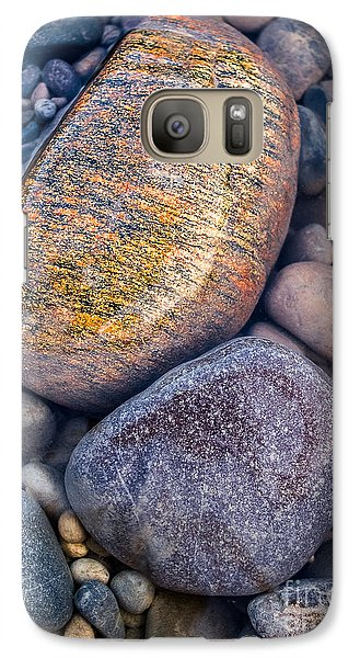 Golden Pebble Galaxy S7 Case