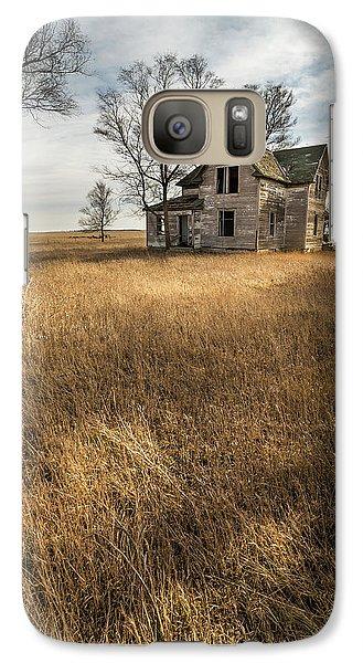 Galaxy Case featuring the photograph Golden Prairie  by Aaron J Groen