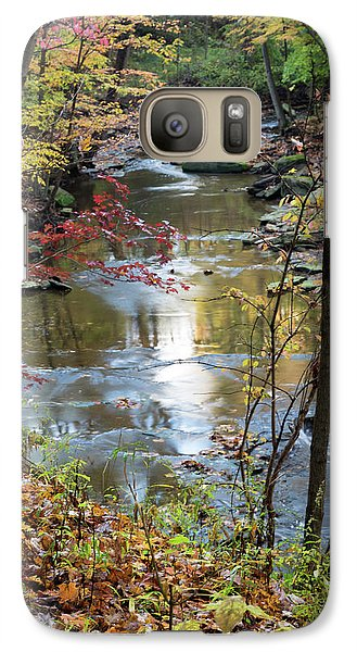 Galaxy Case featuring the photograph Golden Reflections by Dale Kincaid