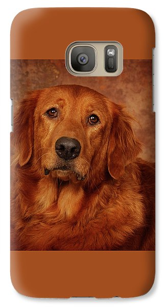 Galaxy Case featuring the photograph Golden Retriever by Greg Mimbs