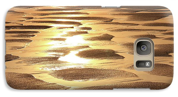 Galaxy Case featuring the photograph Golden Sands by Roupen  Baker