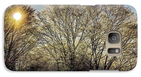Golden Snow Galaxy S7 Case by Tatsuya Atarashi