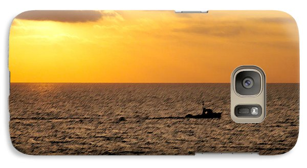 Galaxy Case featuring the photograph Golden Voyage by Christopher Woods