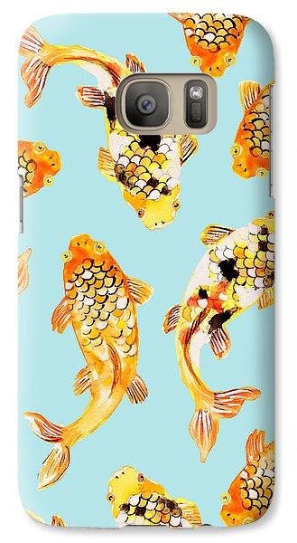 Goldfish Galaxy Case by Uma Gokhale